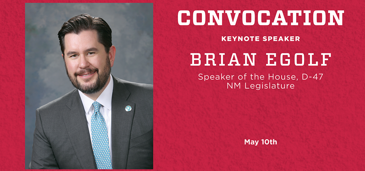 Convocation Keynote Speaker Announced